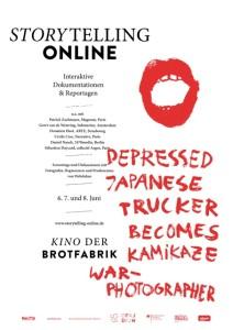 Poster Storytelling Online Konferenz