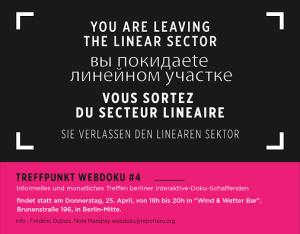 Poster Treffpunkt Webdoku #4