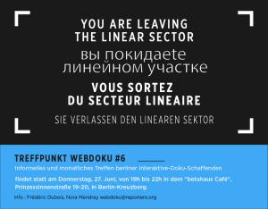 Poster Treffpunkt Webdoku #6