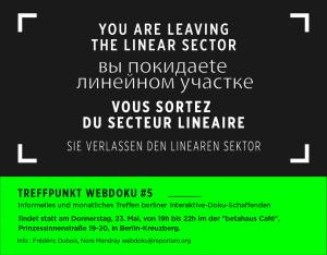 Poster Treffpunkt Webdoku #5