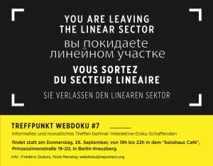 Poster Treffpunkt Webdoku #7