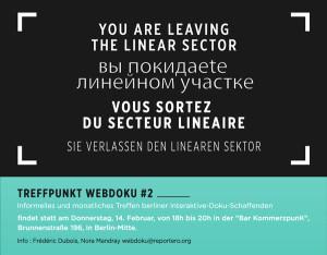 Poster Treffpunkt Webdoku #2