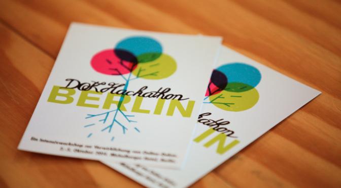 Jetzt bewerben: DOK Hackathon Berlin