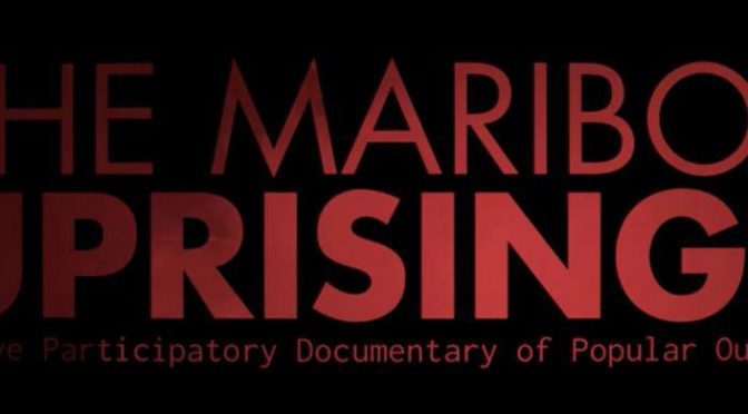 Interactive Screening: The Maribor Uprisings